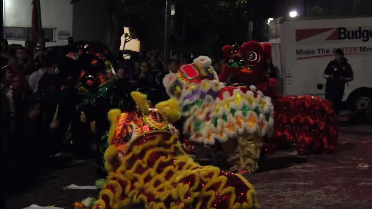 Chinese New Year, LA